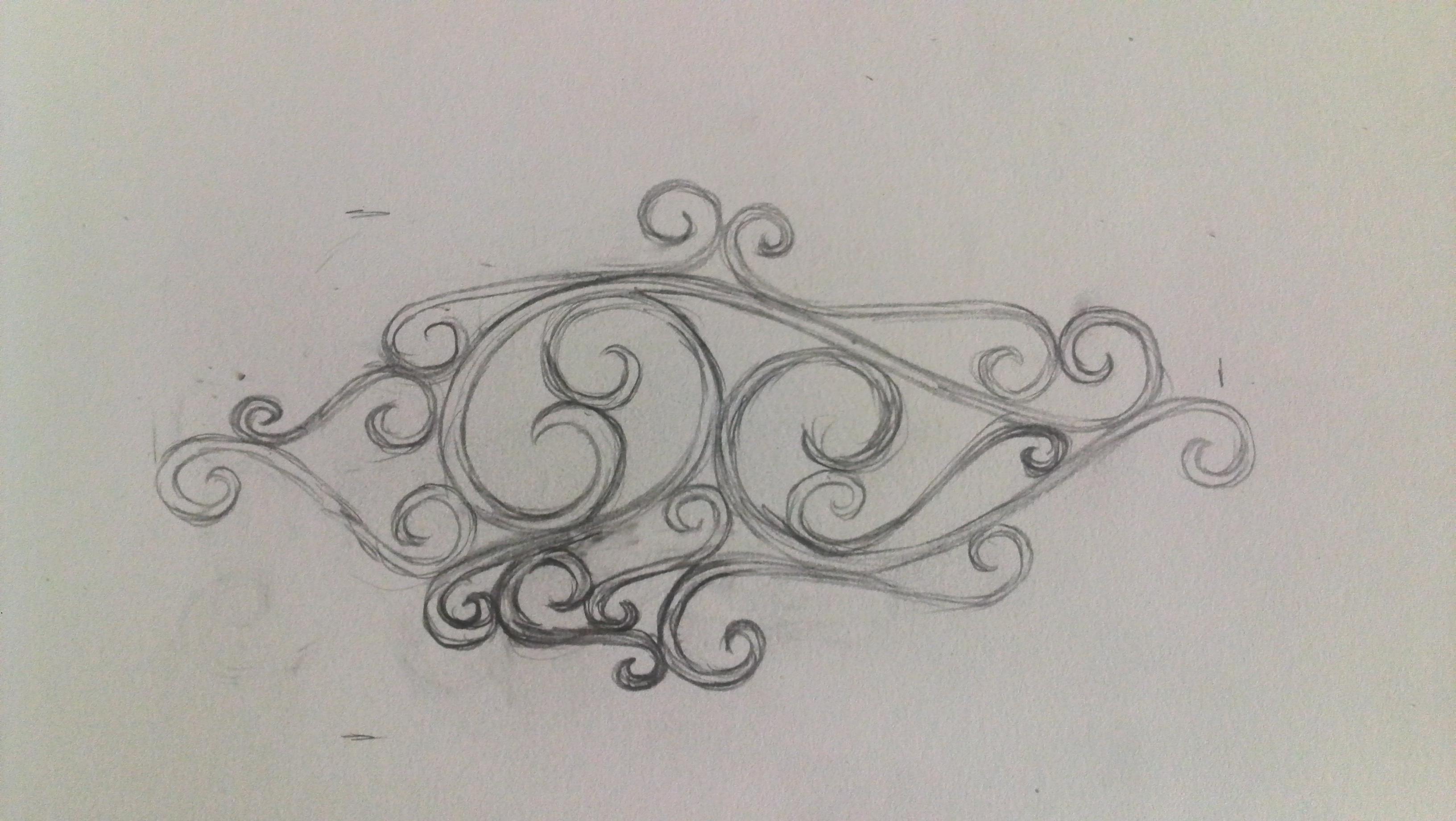 Siwrly Bracelet Progress ~ Sketch to Finished Product ...